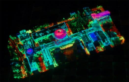New interactive military holographic 3D map by DARPA