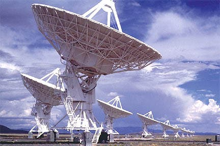 SETI satellites search for extraterrestrial life