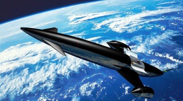 Skylon sabre engine in space