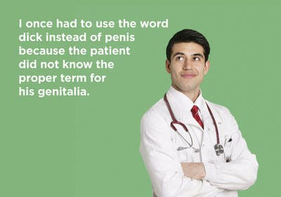 Hilarious stories from the doctors of reddit