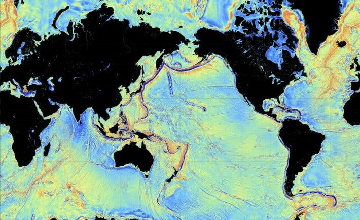 A new gravity model gives us the clearest picture of the world's seabed up to now.