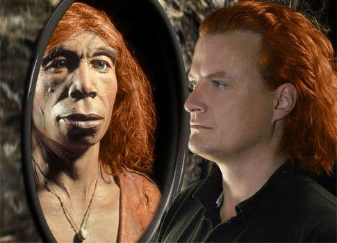 Red hair and fair skin are also thought to have been inherited from Neanderthals. [Image Source: BBC News