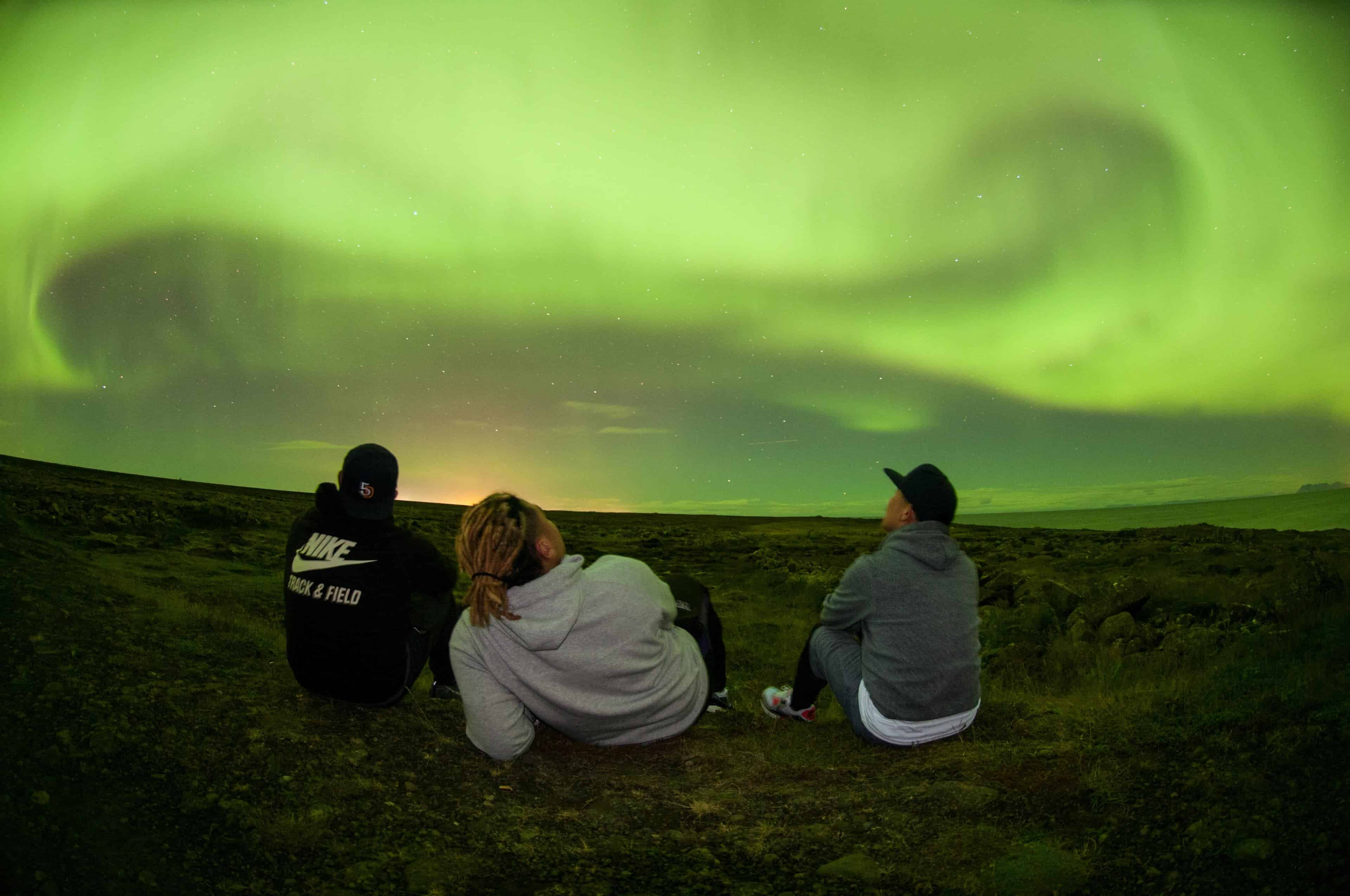 Reykjavik Switches City Lights Off For Nothern Lights And It Looks