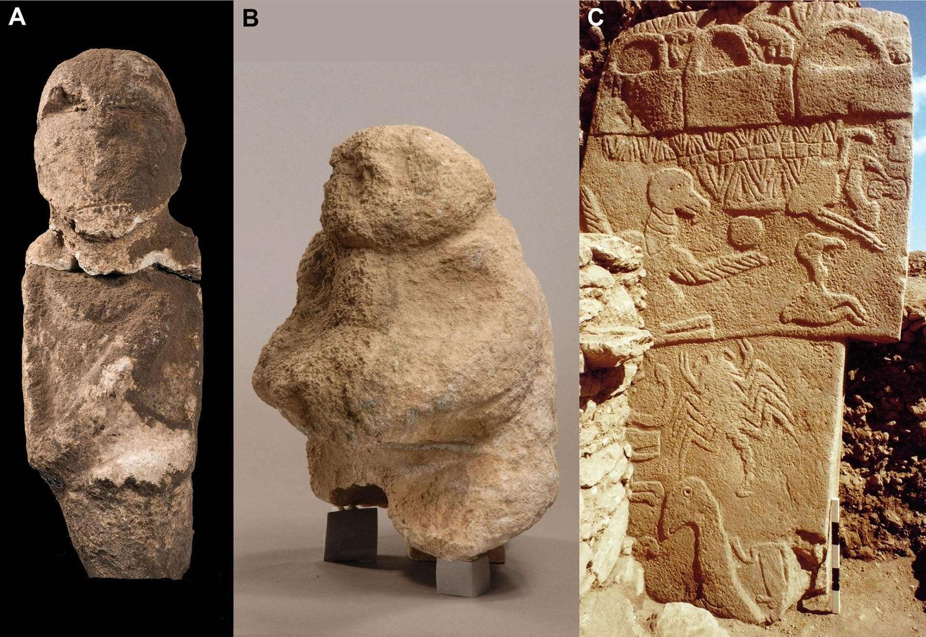 Carved human skull fragments found in world's oldest temple hint at