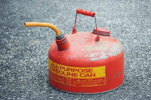 Gas cannister.