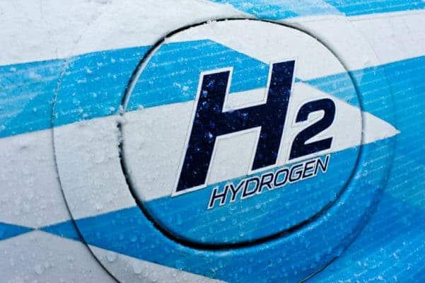 Hydrogen sign.