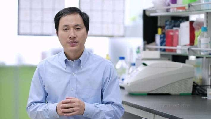 He Jiankui is a Chinese biomedical researcher, who was trained in the United States. He became widely known in November 2018 after he said that he had generated the first human genetically edited babies, Lulu and Nana. Credit: Wikimedia Commons.